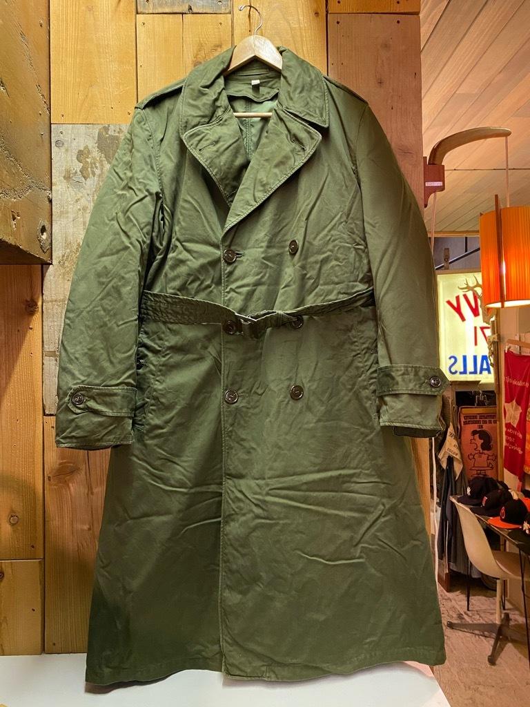 12月5日(土)マグネッツ大阪店Superior入荷日!! #2 U.S.Military編Part2!! M-46.50FieldCoat,RainCoat,AllWeatherCoat!!_c0078587_17115624.jpg