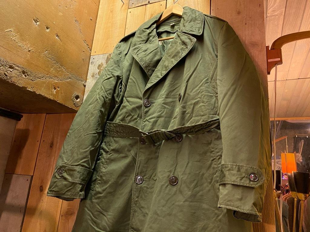 12月5日(土)マグネッツ大阪店Superior入荷日!! #2 U.S.Military編Part2!! M-46.50FieldCoat,RainCoat,AllWeatherCoat!!_c0078587_17120014.jpg