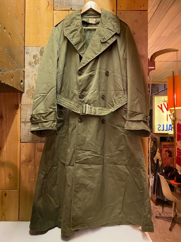 12月5日(土)マグネッツ大阪店Superior入荷日!! #2 U.S.Military編Part2!! M-46.50FieldCoat,RainCoat,AllWeatherCoat!!_c0078587_17143410.jpg