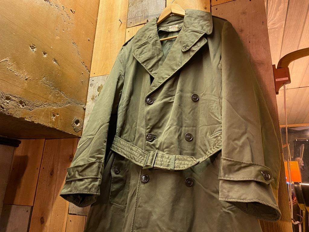 12月5日(土)マグネッツ大阪店Superior入荷日!! #2 U.S.Military編Part2!! M-46.50FieldCoat,RainCoat,AllWeatherCoat!!_c0078587_17143627.jpg