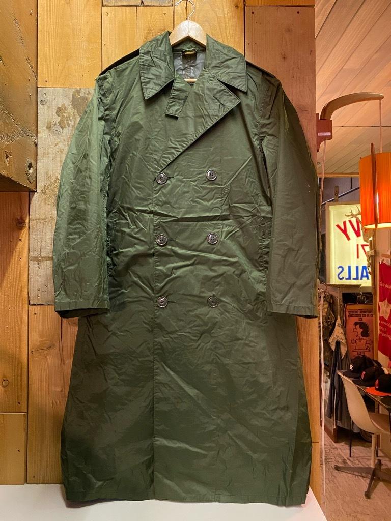 12月5日(土)マグネッツ大阪店Superior入荷日!! #2 U.S.Military編Part2!! M-46.50FieldCoat,RainCoat,AllWeatherCoat!!_c0078587_17152039.jpg