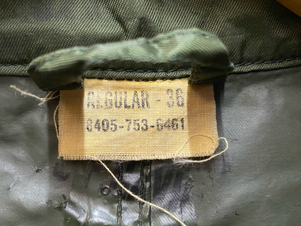 12月5日(土)マグネッツ大阪店Superior入荷日!! #2 U.S.Military編Part2!! M-46.50FieldCoat,RainCoat,AllWeatherCoat!!_c0078587_17152541.jpg