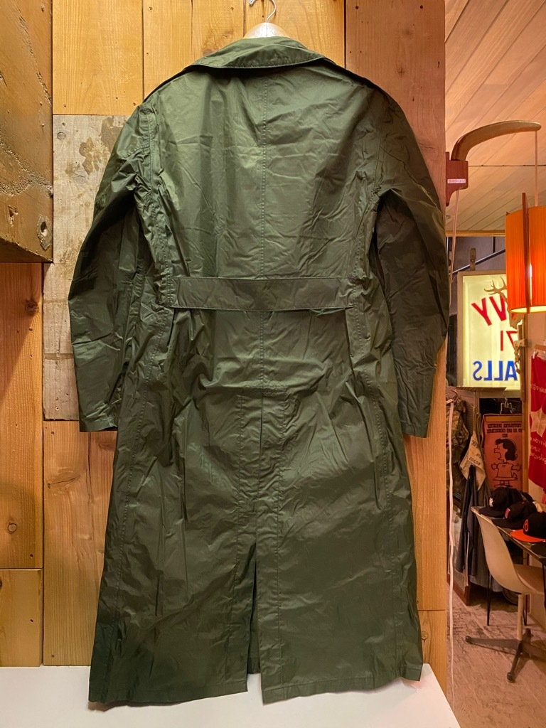 12月5日(土)マグネッツ大阪店Superior入荷日!! #2 U.S.Military編Part2!! M-46.50FieldCoat,RainCoat,AllWeatherCoat!!_c0078587_17153374.jpg