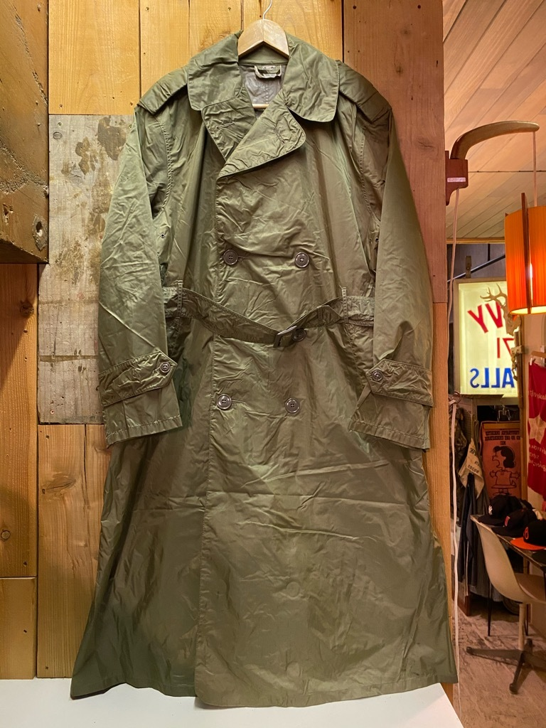 12月5日(土)マグネッツ大阪店Superior入荷日!! #2 U.S.Military編Part2!! M-46.50FieldCoat,RainCoat,AllWeatherCoat!!_c0078587_17162029.jpg