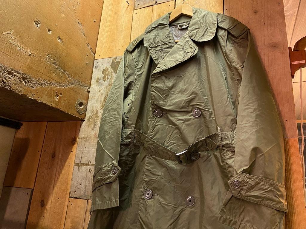 12月5日(土)マグネッツ大阪店Superior入荷日!! #2 U.S.Military編Part2!! M-46.50FieldCoat,RainCoat,AllWeatherCoat!!_c0078587_17162395.jpg