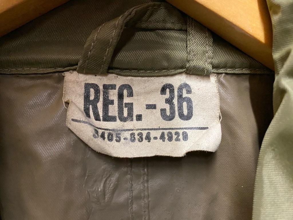 12月5日(土)マグネッツ大阪店Superior入荷日!! #2 U.S.Military編Part2!! M-46.50FieldCoat,RainCoat,AllWeatherCoat!!_c0078587_17162568.jpg