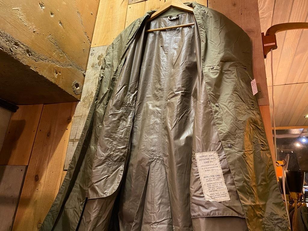 12月5日(土)マグネッツ大阪店Superior入荷日!! #2 U.S.Military編Part2!! M-46.50FieldCoat,RainCoat,AllWeatherCoat!!_c0078587_17163251.jpg