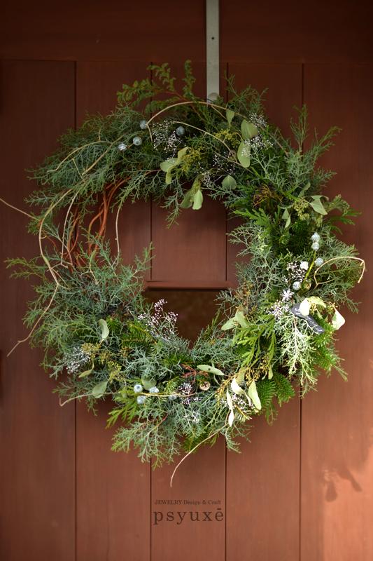 Christmas Wreath ☆ クリスマスリース_e0131432_20581627.jpg