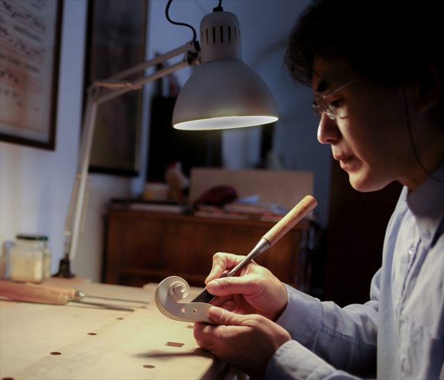 ウズマキの製作、動画と写真でご紹介。_d0047461_06505415.jpg