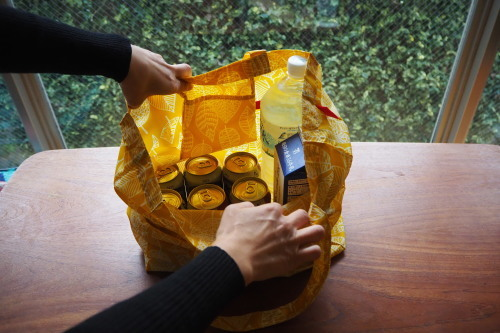 今年のgift setは「sacoche & ecobag nylon」_e0243765_16430611.jpg