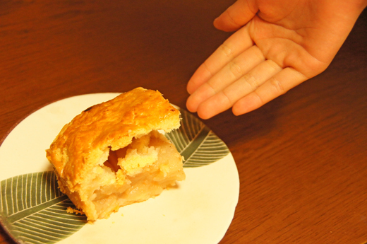 アメリカンアップルパイと、大根おろしパスタ_c0139591_05175668.jpg