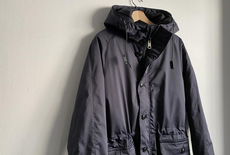 Thin Down Winter Mods Coat_c0379477_18555654.jpg