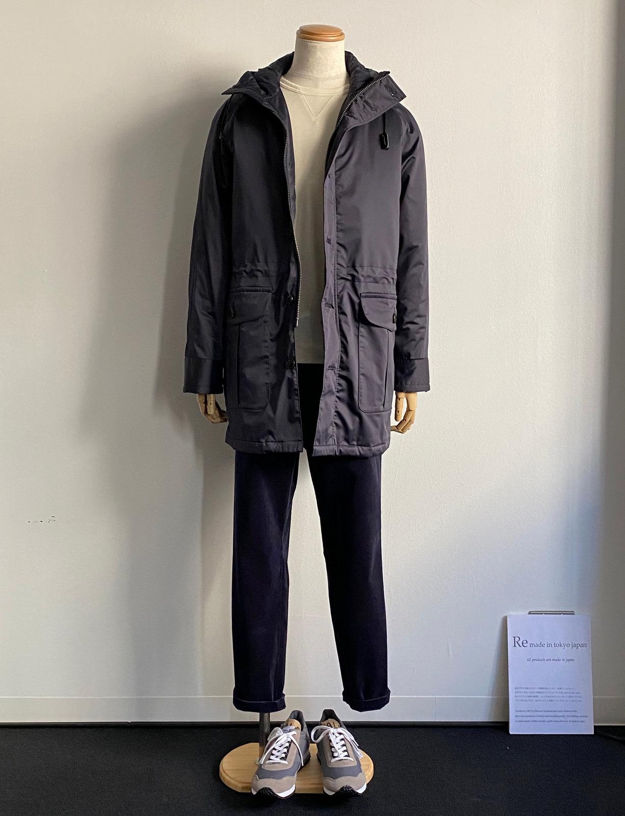 Thin Down Winter Mods Coat_c0379477_19161114.jpg