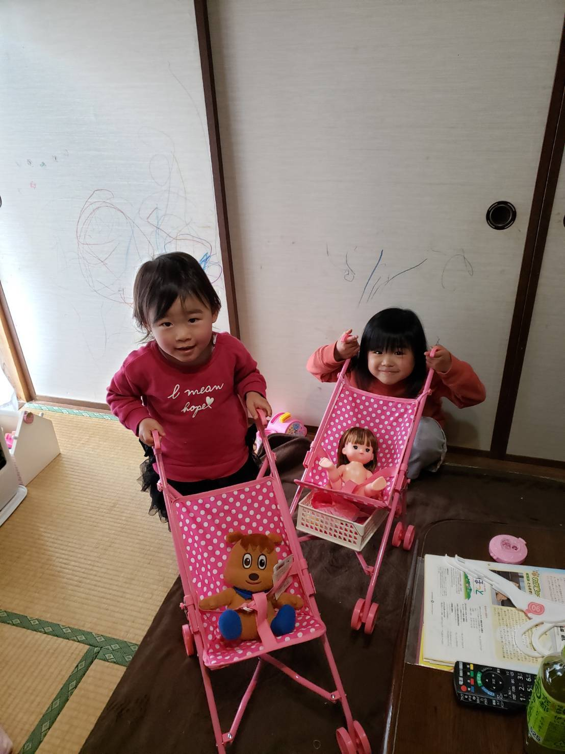 愛ちゃんと未零ちゃんの誕生会をまとめてしました._c0300035_16290365.jpg