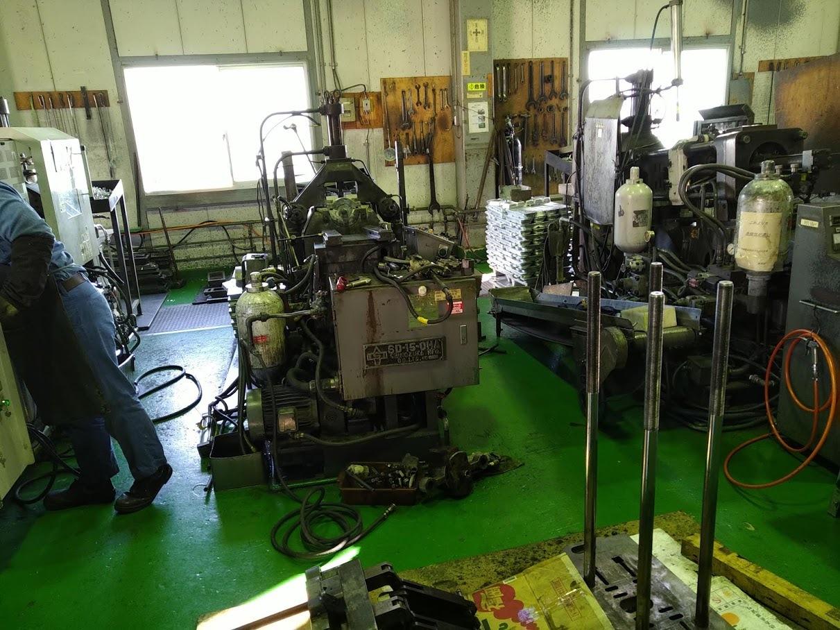 鋳造機の修理とメンテナンス_e0045139_11533675.jpg