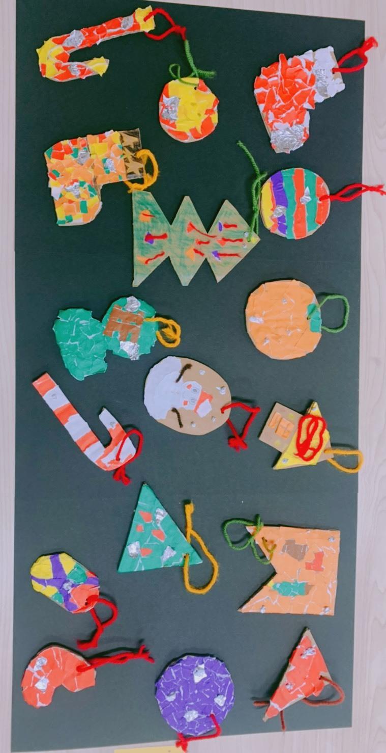 クリスマスツリー オーナメント😃_f0065444_17371100.jpeg