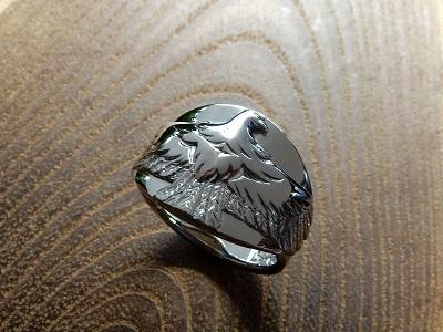 イーグルの指輪 オーダーメイド   岡山_d0237570_15202074.jpg