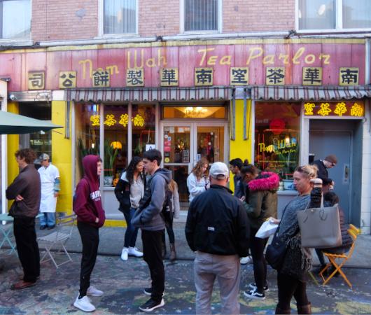 1920年創業、NY最古の飲茶屋さん、Nom Wah Tea Parlor(南華茶室)_b0007805_01394290.jpg