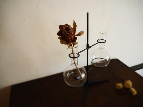 アイアンフラスコスタンド花器Ⅱ_c0148232_13203245.jpg