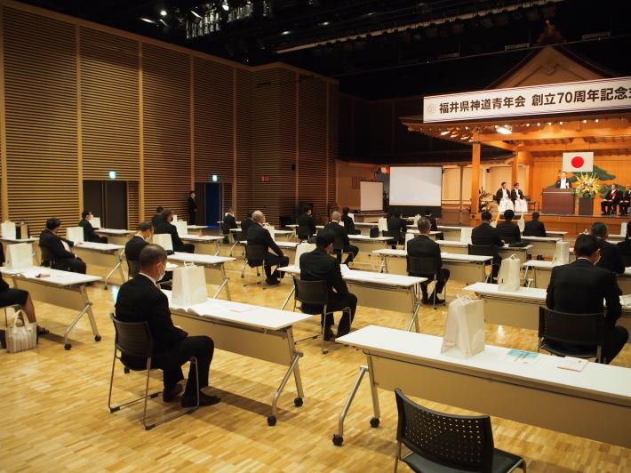 福井県神道青年会創立70周年記念式典_f0136366_09022325.jpg