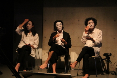 3つのカラダが語った「ダンスブリッジ」笠井瑞丈監修版終わる_d0178431_01575804.jpg