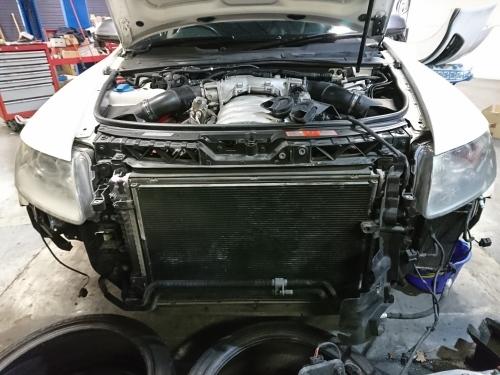 ハイパワーエンジンは何かと大変!! Audi S6_c0219786_14582520.jpg