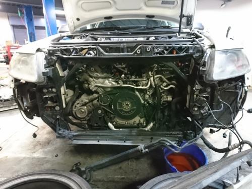 ハイパワーエンジンは何かと大変!! Audi S6_c0219786_14583139.jpg