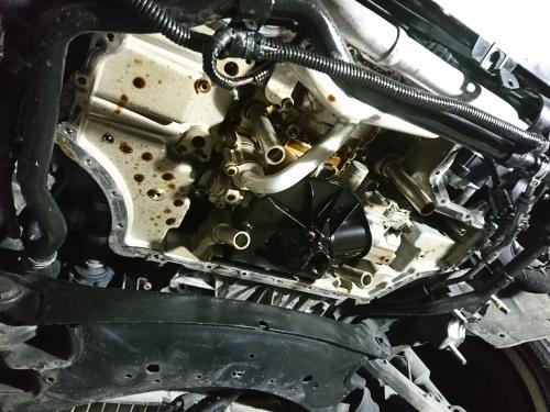 ハイパワーエンジンは何かと大変!! Audi S6_c0219786_15063977.jpg