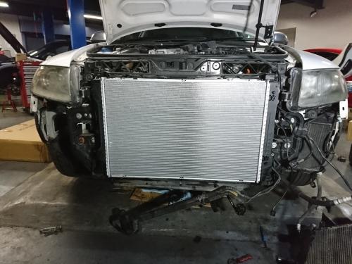 ハイパワーエンジンは何かと大変!! Audi S6_c0219786_15111523.jpg