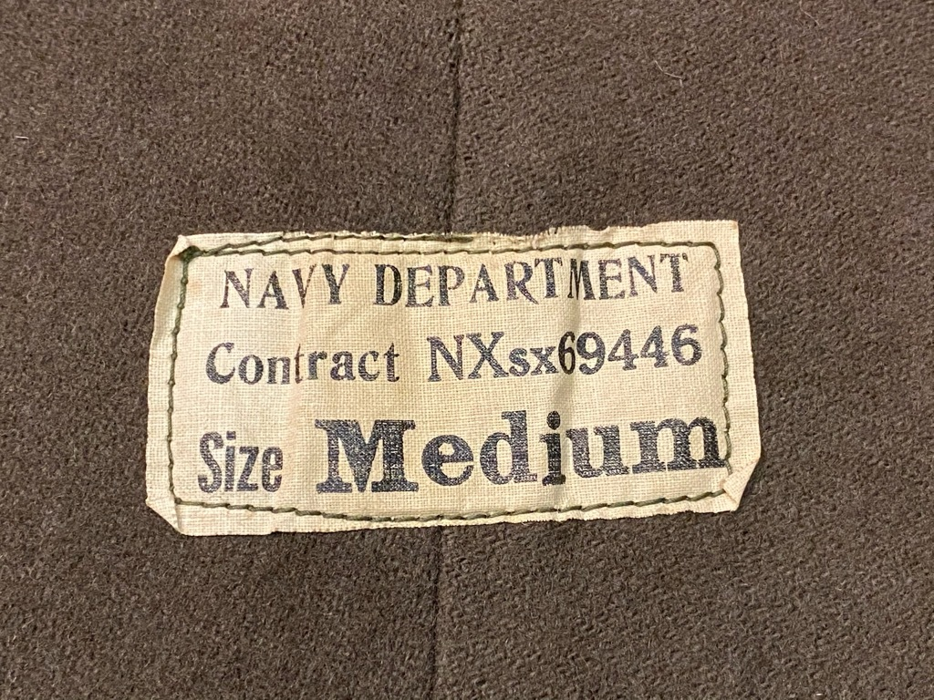12月9日(水)マグネッツ大阪店Vintage入荷! #5 U.S.Navy編!!SatinUtilityJKT,DoubleChest,WeatherParka,DeckPants,WatchCap_c0078587_23514531.jpg