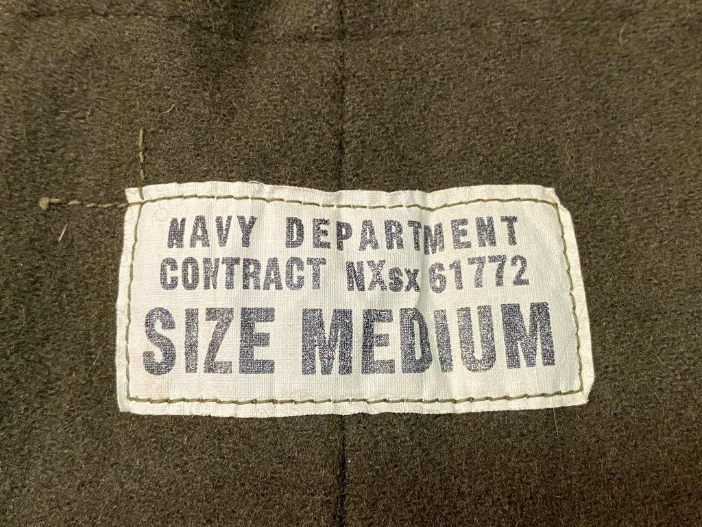 12月9日(水)マグネッツ大阪店Vintage入荷! #5 U.S.Navy編!!SatinUtilityJKT,DoubleChest,WeatherParka,DeckPants,WatchCap_c0078587_23530023.jpg