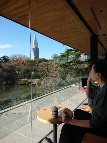スターバックス新宿御苑店_a0147436_16380653.jpg