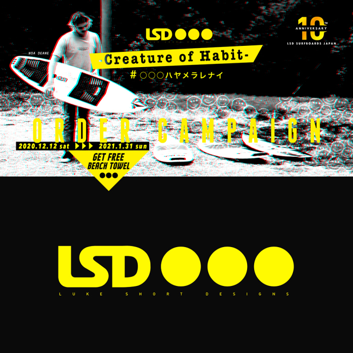 2020 LSD SURFBOARDS 10years Anniversary ORDER CAMPAIGN_d0119852_13244676.jpg