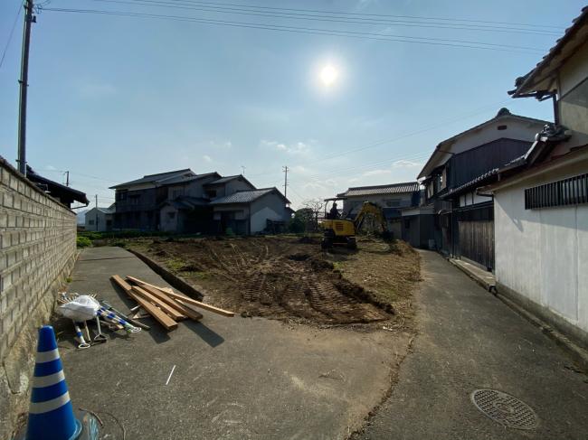 農地転用に向けて造成工事中_f0115152_15421040.jpg