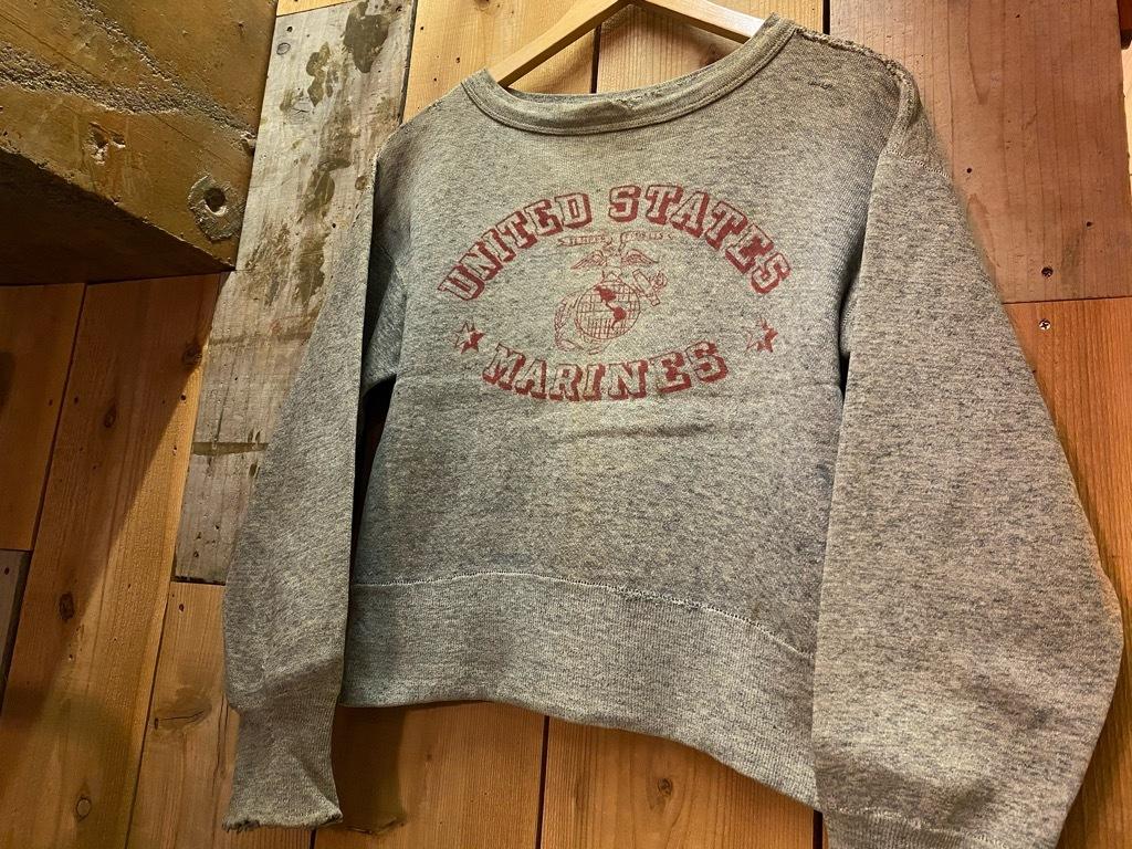 12月9日(水)マグネッツ大阪店Vintage入荷! #6 U.S.M.C.編!!VintageSweat,P-47 HBT,P-53 HBT,BlueDressParadePants!!_c0078587_00121659.jpg