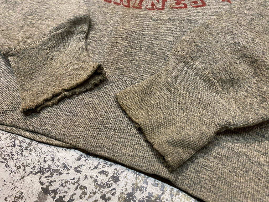 12月9日(水)マグネッツ大阪店Vintage入荷! #6 U.S.M.C.編!!VintageSweat,P-47 HBT,P-53 HBT,BlueDressParadePants!!_c0078587_00122616.jpg