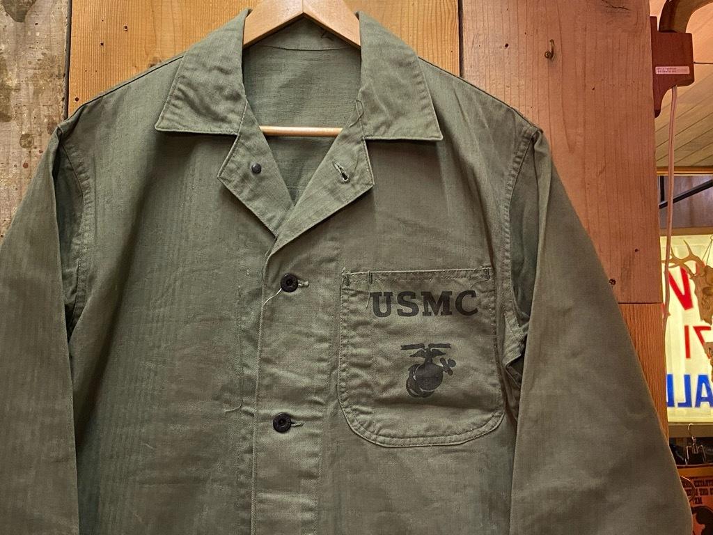 12月9日(水)マグネッツ大阪店Vintage入荷! #6 U.S.M.C.編!!VintageSweat,P-47 HBT,P-53 HBT,BlueDressParadePants!!_c0078587_00140784.jpg