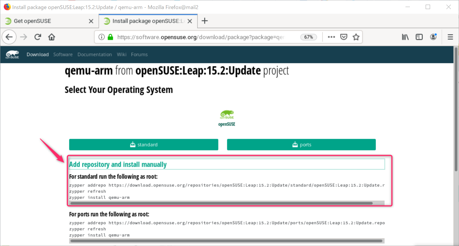 openSUSE15.2  x86-64 環境でARMのクロスコンパイル_a0056607_10145571.png