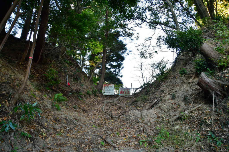 Mimase Pass 下山_b0223512_14400923.jpg