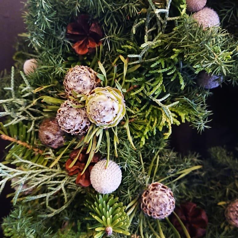 皆さんでクリスマスリースを作りましょうの会~。_a0160970_15232073.jpg