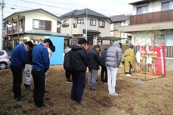 横浜市で地鎮祭です_c0130172_16183443.jpg