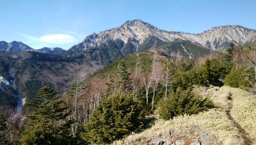 赤岳登山~八ヶ岳積雪状況~_e0231387_20341529.jpg