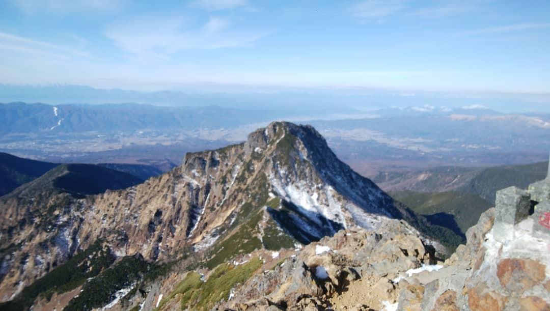 赤岳登山~八ヶ岳積雪状況~_e0231387_20341582.jpg