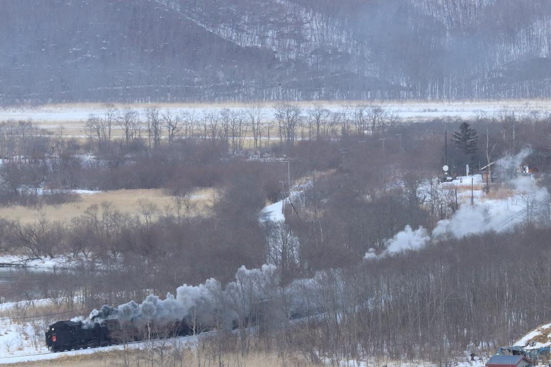 冬の湿原の煙 - 2019年・釧網線 -_b0190710_20265481.jpg