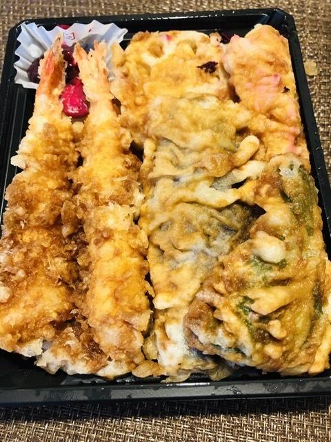 【又食べてしまった「天喜代」の天丼弁当】海老と穴子_b0009849_14432541.jpeg