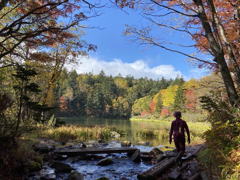 """2020年10月 『秋の空沼岳、懐かしの写真と想い出』 October 2020 \""""Mt Soranuma in the Autumn with Old Photos and Memories\""""_c0219616_16323844.jpg"""
