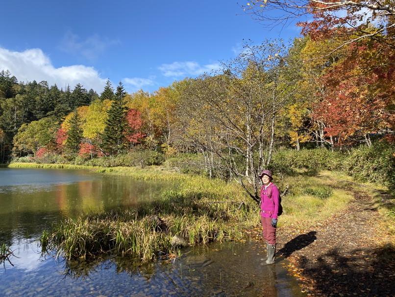"""2020年10月 『秋の空沼岳、懐かしの写真と想い出』 October 2020 \""""Mt Soranuma in the Autumn with Old Photos and Memories\""""_c0219616_16323963.jpg"""
