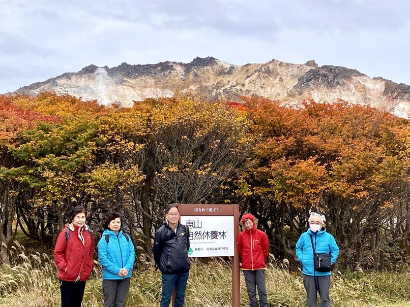 """2020年10月 『友と歩く錦秋の北海道』 October 2020 \""""Alumni in the Autumn Hokkaido\""""_c0219616_17260338.jpg"""