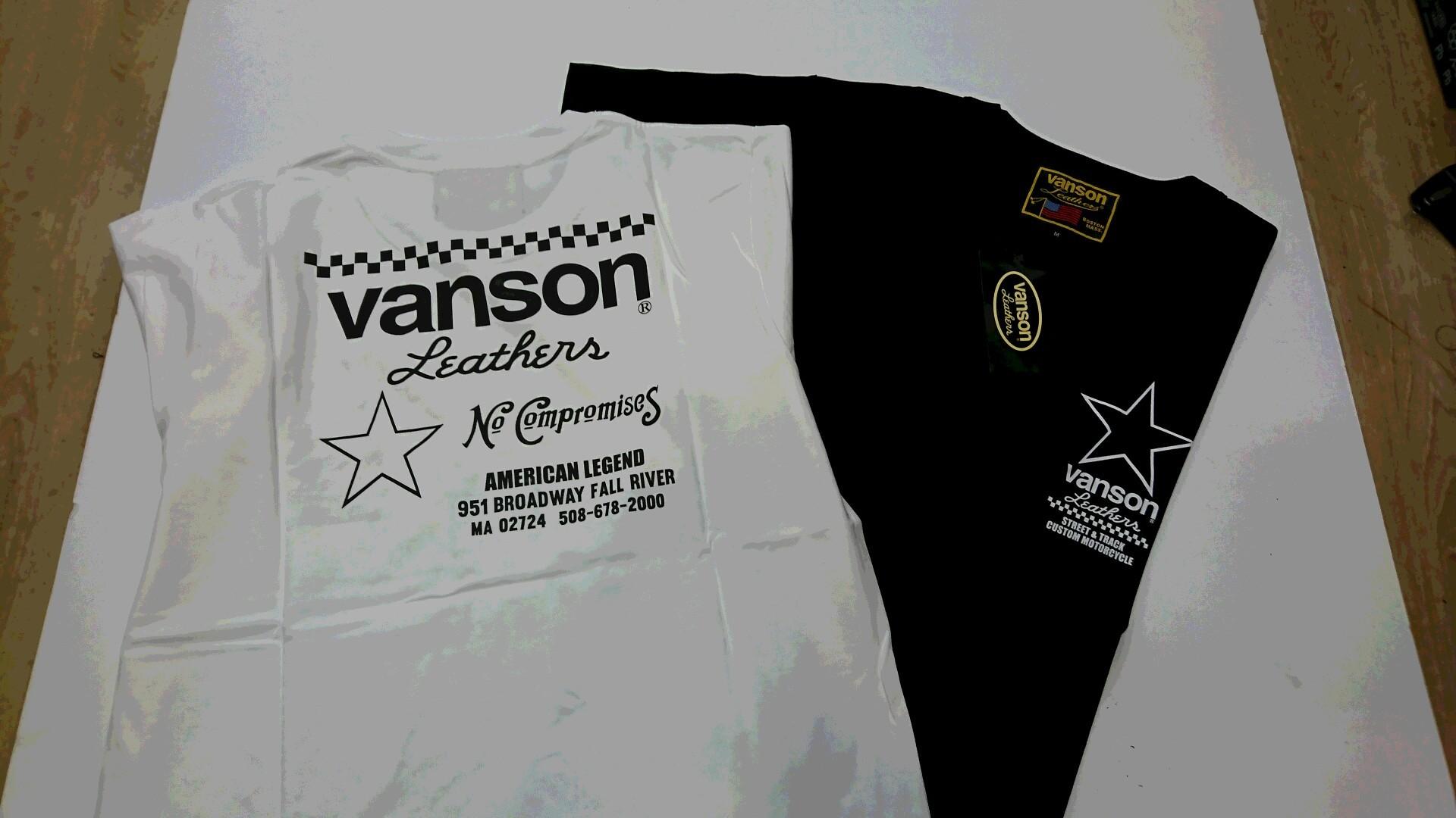 高松店限定 VANSON Tシャツプレゼント!_b0163075_17393795.jpg