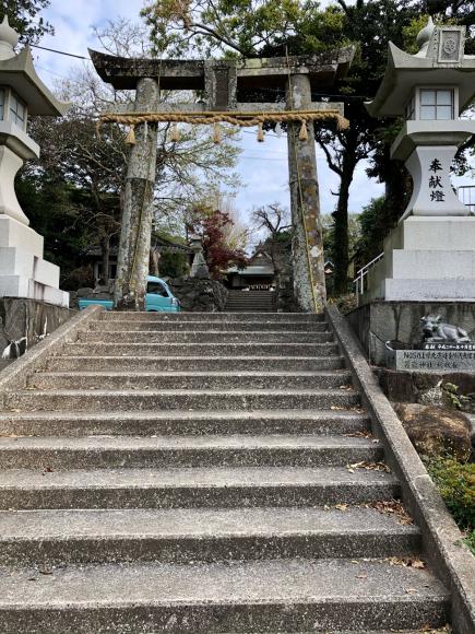壱岐・男岳(おんだけ)神社(壱岐島・長崎県)_d0339676_17111681.jpg